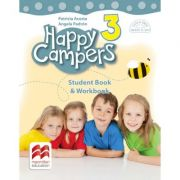 Happy Campers 3. Student's Book and Workbook. Clasa a III-a - Patricia Acosta