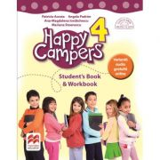 Happy Campers 4. Student Book and Workbook. Clasa a IV-a - Patricia Acosta