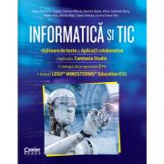 Informatica si TIC clasa a VII-a. Editoare de text si aplicații colaborative, Camtasia Studio, C++, EV3 - Nusa Dumitriu-Lupan