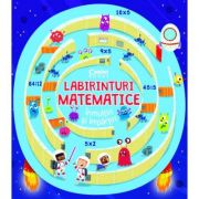 Labirinturi matematice. Inmultiri si impartiri - Angelika Scudamore