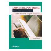 Limba si literatura romana - Simulare - Clasa 8 - Marinela Pantazi