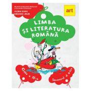 LIMBA SI LITERATURA ROMANA. Manual pentru clasa a IV-a. Semestrul al II-lea (cu CD) - Alina Radu, Roxana Jeler
