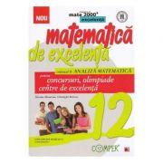 Matematica de excelenta. Clasa 12, vol. 2: Analiza matematica pentru concursuri, olimpiade si centre de excelenta - Gheorghe Boroica