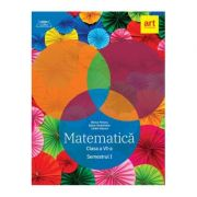Matematica pentru clasa a 6-a. Semestrul 1 (Colectia clubul matematicienilor)