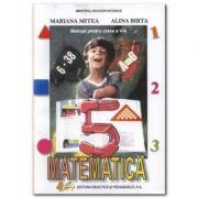 Manual de matematica pentru clasa a V-a - Alina Birta