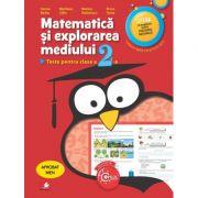Matematica si explorarea mediului. Teste pentru clasa a II-a - Sorina Barbu