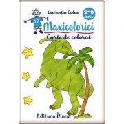 Maxicolorici. Carte de colorat 5-6 ani - Laurentiu Culea