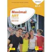 Maximal. Limba Germana. Clasa a V-a. Caietul elevului. Maximal. Arbeitsbuch. A1. 1 - Julia Katharina Weber, Claudia Brass, Dagmar Gluck
