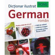 Dictionar ilustrat german-roman, pentru viata de zi cu zi - Pons