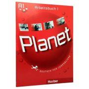 Planet 1. Arbeitsbuch. Deutsch fur Jugendliche (caiet de limba germana clasa a V-a)