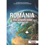 Romania. Atlas geografic scolar - Cezar-Iulian Buterez