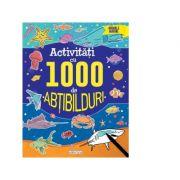 Activitati cu 1000 de abtibilduri. Animale marine
