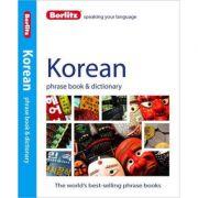 Berlitz Korean Phrase Book and Dictionary