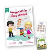 "Comunicare în limba romana, clasa I + carte cadou ""Invatam altfel"" + caiet tip I oferit gratuit"