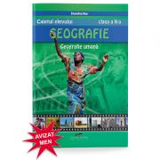 Geografie umana - caietul elevului pentru clasa a X-a