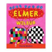 Elmer si Wilbur - David McKee