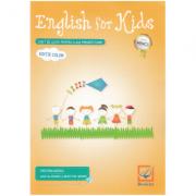 English for Kids. Caiet - Clasa pregatitoare - Cristina Mircea ( Editie color )