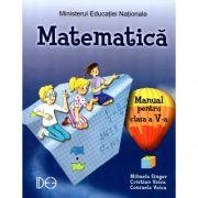 Matematica. Manual pentru clasa a V-a (IDEE) - Mihaela Singer
