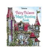 Fairy Palaces Magic Painting Book - Lesley Sims