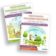 Set Teste de matematica si limba romana pentru Evaluarea Nationala de clasa a 2-a - Mirela Mihaescu
