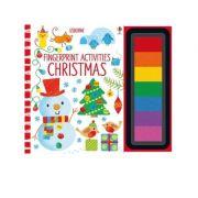 Fingerprint Activities Christmas - Fiona Watt
