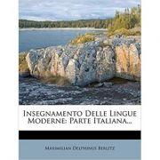 Insegnamento Delle Lingue Moderne: Parte Italiana...
