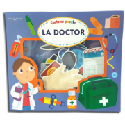 La doctor. Carte cu puzzle. Bebe invata