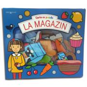 La magazin. Carte cu puzzle. Bebe invata