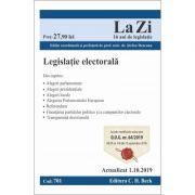Legislatie electorala. Cod 701. Actualizat la 1. 10. 2019 - Stefan Deaconu
