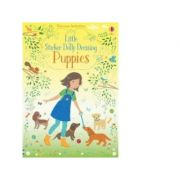 Little Sticker Dolly Dressing Puppies - Fiona Watt