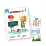 "Matematica, clasa a IV-a + carte cadou ""Invatam altfel"" + caiet matematica oferit gratuit"