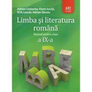 Manual Limba si literatura romana clasa 9-a, ed. Art (Adrian Costache)