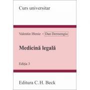 Medicina legala. Editia 3 - Valentin Iftenie, Dan Dermengiu