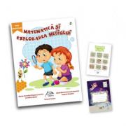 """Matematica si explorarea mediului, clasa pregatitoare + carte cadou """"Invatam altfel"""" + caiet matematica oferit gratuit"""