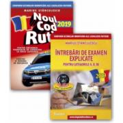 Pachet Legislatie rutiera 2019. Noul cod rutier 2019 cu Intrebari de examen explicate pentru categoriile A, B, BE + CD - Marius Stanculescu