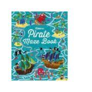 Pirate Maze Book - Kirsteen Robson