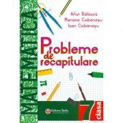 Matematica probleme de recapitulare pentru clasa a VII-a (Artur Balauca )