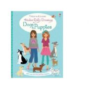 Sticker Dolly Dressing Dogs and Puppies - Fiona Watt