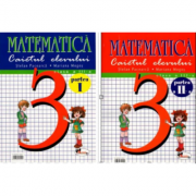 Matematica clasa a III-a - Set caiete semestrele I + II (Stefan Pacearca)