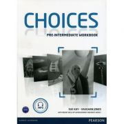 Choices Pre-Intermediate Workbook and Audio CD Pack - Sue Kay