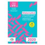 Matematica - 30 + 5 modele de teste - in vederea pregatirii examenului de Evaluare Nationala 2020 - clasa a VII-a