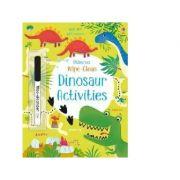 Wipe-Clean Dinosaur Activities - Kirsteen Robson