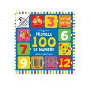 Bebe invata. Primele 100 de numere. Carte cu ferestruici