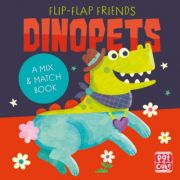 Dinopets: A Mix and Match Book (Flip-Flap Friends) - Pat-a-Cake