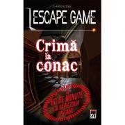 Escape Game. Crima la conac - Larousse
