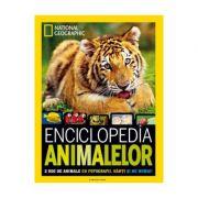 Enciclopedia animalelor. National Geographic 2500 de animale cu fotografii, harti si nu numai!