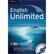 English Unlimited Intermediate Coursebook with e-Portfolio - David Rea, Theresa Clementson, Alex Tilbury, Leslie Anne Hendra
