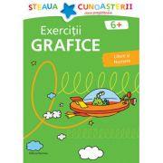 Exercitii grafice, litere si numere pentru clasa pregatitoare. Colectia Steaua cunoasterii (Verde) - Birgit Fuchs