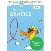 Exercitii grafice pentru gradinita. Colectia Steaua cunoasterii (Bleu) - Birgit Fuchs