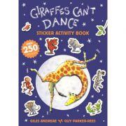 Giraffes Can't Dance 20th Anniversary Sticker Activity Book - Giles Andreae